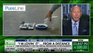 Former McDonald's CEO talks about Decontamination overnight