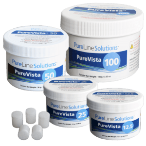 PureLine PureVista chlorine dioxide solutions canisters